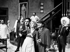 Image result for black and white stage productions