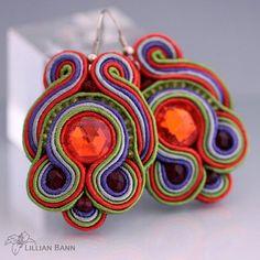 Sutaškové náušnice Reena / Zboží prodejce Z-ART handmade Crochet Earrings, Jewelry, Jewlery, Jewerly, Schmuck, Jewels, Jewelery, Fine Jewelry, Jewel