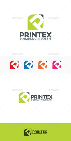 Printex P Letter - Logo Design Template Vector #logotype Download it here: http://graphicriver.net/item/printex-p-letter-logo/9663976?s_rank=1587?ref=nexion