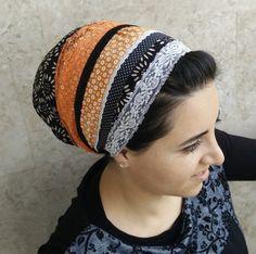 sinar tichel apron head covering headscarf aprons by oshratDesignz