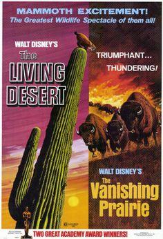 Walt Disney's The Living Desert & Walt Disney's The Vanishing Prairie