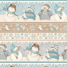 , I Still Love Snow 2 ply flannel by Shelly Comiskey of Simply Shelly Designs, Henry Glass & Co. Christmas Makes, Christmas Snowman, Christmas Crafts, Xmas, Decoupage, Sock Snowman, Christmas Stationery, I Love Winter, Christmas Drawing