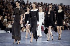 Paris fashion week: Chanel Spring/Summer 2013 at the Grand Palais