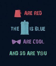 Doctor Who, Valentine's poem.