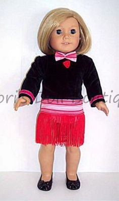 443ce014abe 3PC BLACK FLAPPER DANCE SET Doll Clothes made for 18 inch American Girl  Flapper Style Dresses