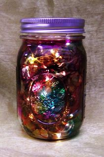 Tie Dyed Mason Jars ~ alcohol ink and compressed air.... its a breeze!