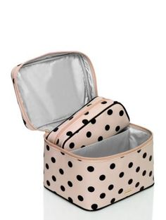 cedar street dot large natalie - kate spade new york cosmetic bag Kate Spade New York, Kate Spade Bag, Luggage Accessories, Handbag Accessories, Fashion Accessories, Kate Spade Christmas Gifts, Purse Wallet, Clutch Bag, Madison Style