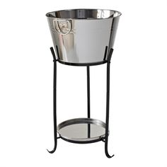 Mimosa Stainless Steel Drinks Cooler With Stand