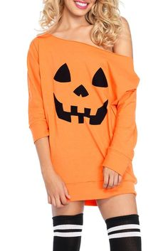 Shop a great selection of For G PL Halloween Women Off Shoulder Sleeve Tops. Find new offer and Similar products for For G PL Halloween Women Off Shoulder Sleeve Tops. Pumpkin Halloween Costume, Classic Halloween Costumes, Halloween Pumpkins, Women Halloween, Halloween Halloween, Halloween Fashion, Halloween Outfits, Simple Dresses, Casual Dresses