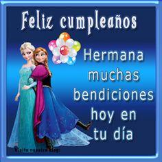 feliz cumpleaños para una hermana querida