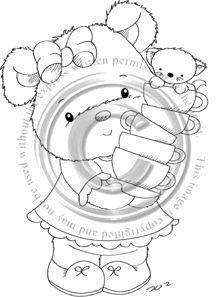 Candy Drawing, Whimsy Stamps, Tatty Teddy, Cute Images, Digital Stamps, Coloring Stuff, Card Making, Cute Animals, Quilts