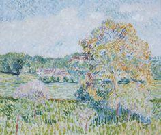 Camille Pissarro  1831 - 1903  LE GRAND NOYER À ERAGNY, AUTOMNE
