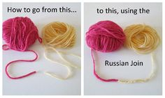 Learn how to use this easy technique for joining yarn.  It`s like magic!!
