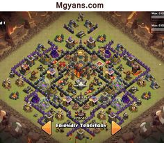 Top 3 TH 10 War Base Designs 4 Mortars  December 2014  COC  Mgyans