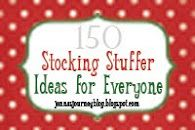 Jennas Journey: 150 Stocking Stuffer Ideas!