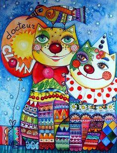 """Doctor Clown"" par Oxana Zaika"