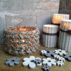 Crochet Candlelight ❤ #crochet #haken #crochetaddict #haakverslaafd #hekle #virka #virkning #häkeln #crochê #croché #ganchillo #uncinetto #handmade #mormorsrutor #craftastherapy #instacrochet #crochetersofinstagram #örgü #diy #candles #candlelight #sfeerlicht pattern by @draadenpraat ❤