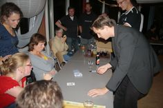 Working for charity, Andrew Melia Magic