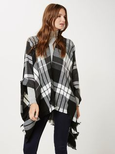VMCHECK PONCHO - Sweaters - Shop by Category