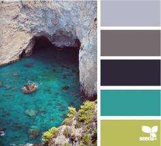 aqua and gray by tinaevarenee