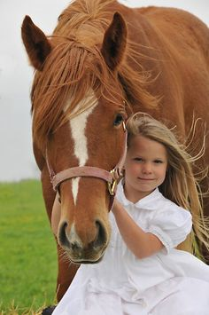 this is soo perfect. every little girl deserves a horse