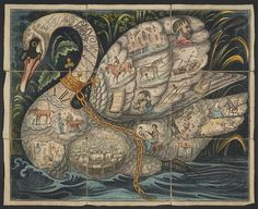 The Noble Game of the Swan (1821) by peacay, via Flickr