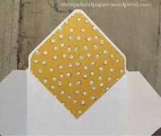 Anleitung für Umschlageinlagen mit dem Envelope Punch Board