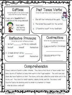 Homework for second graders