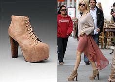 Pretty Little Liars Fashion spotting !   Jeffrey Campbell - Lita Boot - $159.95