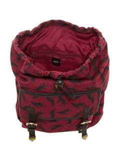 Wolf Print Backpack