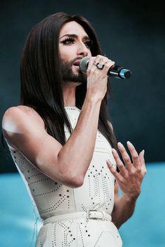 Conchita Wurst @ Innsbruck, 12.07.2014