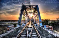 One Evening at Railway Bridge