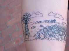 Awesome Kansas tattoo idea