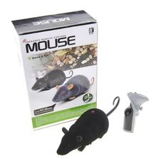 RC Wireless LED Realistic Mice Remote Control Interactive Training Exercise Cat Chase Toys,Prank Joke Toy by Carmo -- Read more at the image link. (This is an affiliate link and I receive a commission for the sales)
