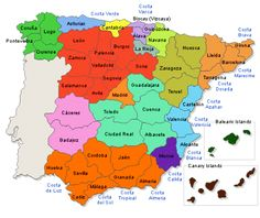 Spain Map Google Map Of Spain Trips And Travels Pinterest - Portugal map beaches
