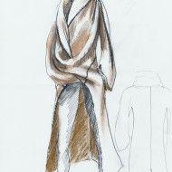 Irina Ternauciuc – Fashion sketch 6
