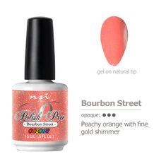 Peachy orange nail p