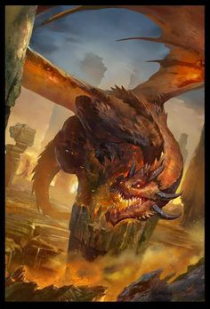 W i think I'm in love with dragons