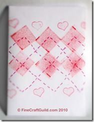 Simple Stamped Argyle Cards. Whipped up in a mum... Other designs & ideas also.