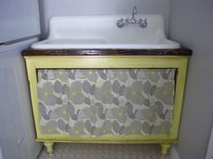 How To Build An Under The Sink Laundry Room Cabinet