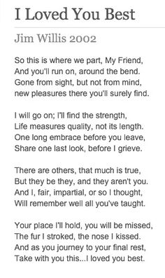 For my Spike! Precious poem for the fur babies we have lost  #pawprintsonmyheart