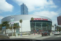 Staples Center - Homes of the L A Lakers... My snaps