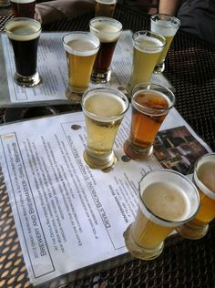 Charlottesville | Devil's Backbone Brewery, sampled their beers at a Mountaintop tasting at Monticello!  Love!