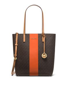 MICHAEL Michael Kors Hayley Large North-South Center Stripe Tote Bag, Multi $248.00