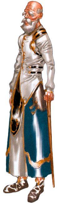 Radius - Characters & Art - Chrono Cross