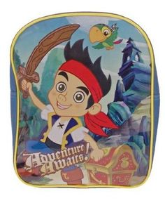 Amazon.com: Jake And The Neverland Pirates PVC Front Backpack: Toys & Games