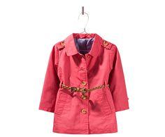 trench coat with plaited belt - Last sizes - Baby girl - Kids | ZARA United States