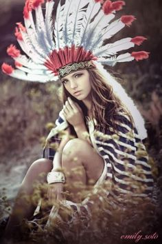 Native American, I love my heritage
