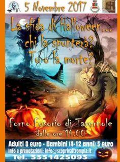 La Sfida di Halloween a Tavernole  http://www.panesalamina.com/2017/59676-la-sfida-di-halloween-a-tavernole.html