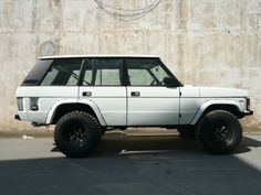 Lifted Range Rover